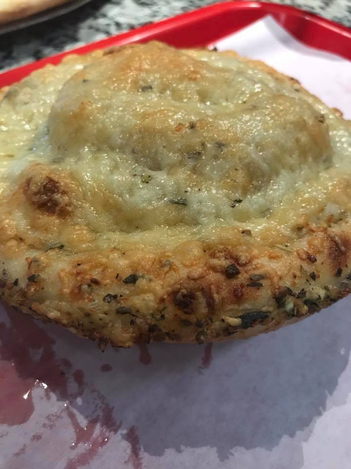 Asiago Garlic bun