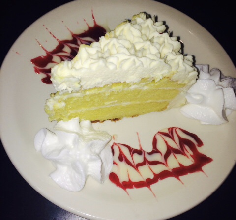 Homemade Lemon Marscarpone Cake